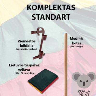 Lietuvos trispalvės rinkinys STANDART