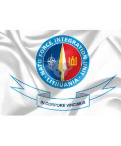 NATO Force Integration Unit Lithuania vėliava