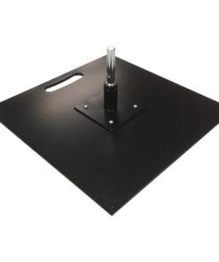 Plieninis pagrindas 40 x 40 cm su sukikliu