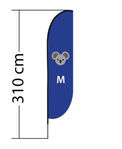 Reklaminė vėliava Convex M