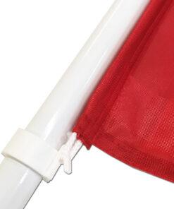 Plastikinis vidaus stiebas tvirtinamas prie sienos 100 cm