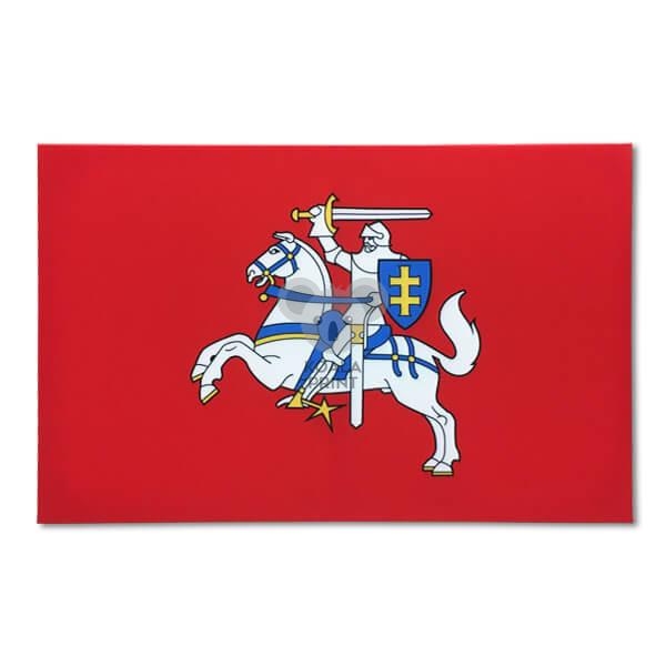 Lietuvos Istorinės vėliavos fotodrobės paveikslas