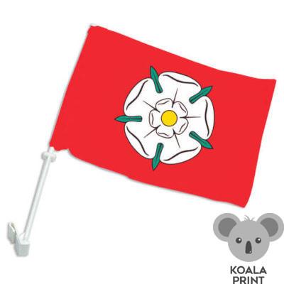 Alytaus miesto automobilinė vėliavėlė su koteliu
