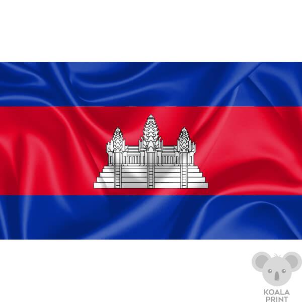 Kambodžos vėliava
