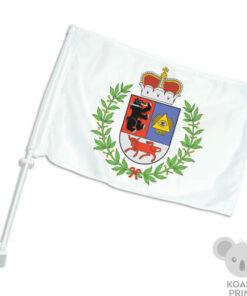 Šiaulių miesto automobilinė vėliavėlė su koteliu