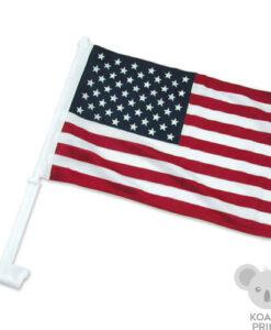 Įvairių valstybių automobilinė vėliavėlė su koteliu