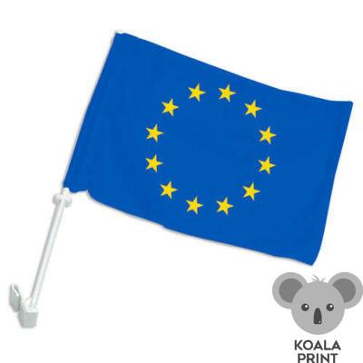 Europos Sąjungos automobilinė vėliavėlė su koteliu