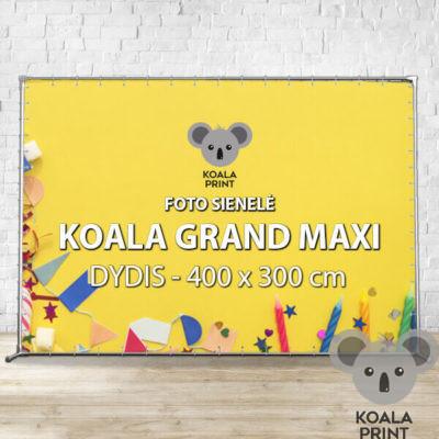 Foto sienelė Koala Grand Maxi - 400 x 300 cm
