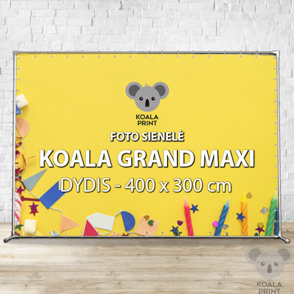 Foto sienelė Koala Grand Maxi - 400 x 300 cm