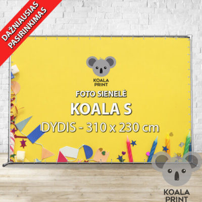 Foto sienelė Koala S - 310 x 230 cm