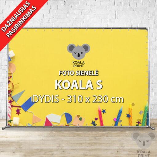 Foto sienelė Koala S - 310 x 230 cm