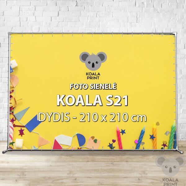 Foto sienelė Koala S21 - 210 x 210 cm