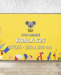 Foto sienelė Koala S25 - 250 x 230 cm