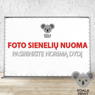 Foto sienelių Koala nuoma