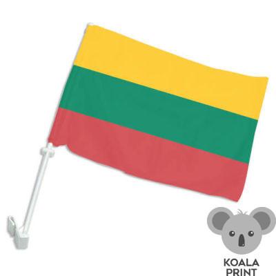 Lietuvos automobilinė vėliavėlė su koteliu