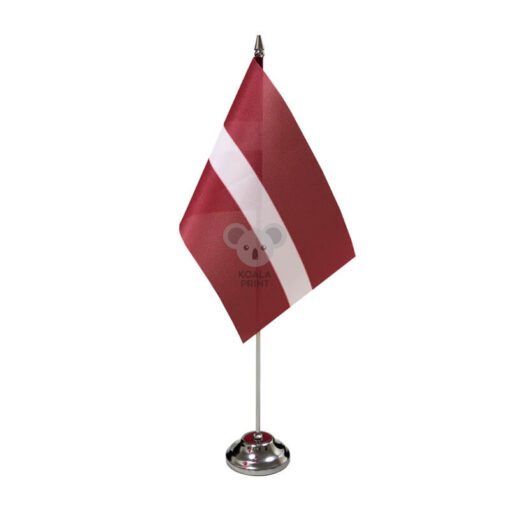 Latvijos stalo vėliavėlė, 12 x 20 cm