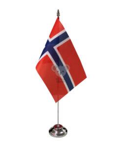 Norvegijos stalo vėliavėlė, 12 x 20 cm