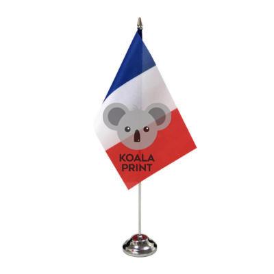 Prancūzijos stalo vėliavėlė, 12 x 20 cm