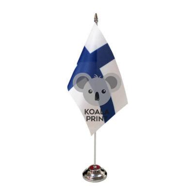 Suomijos stalo vėliavėlė, 12 x 20 cm