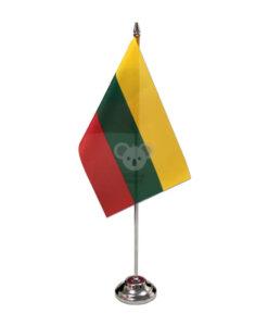 Vienvietis metalinis vėliavėlės stovelis SILVER