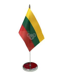 Vienvietis metalinis vėliavėlės stovelis