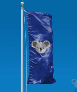Vertikali vėliava pagal užsakymą