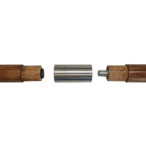 Medinis kotas, sujungiamas, 2,5m ilgio, 34mm skersmens