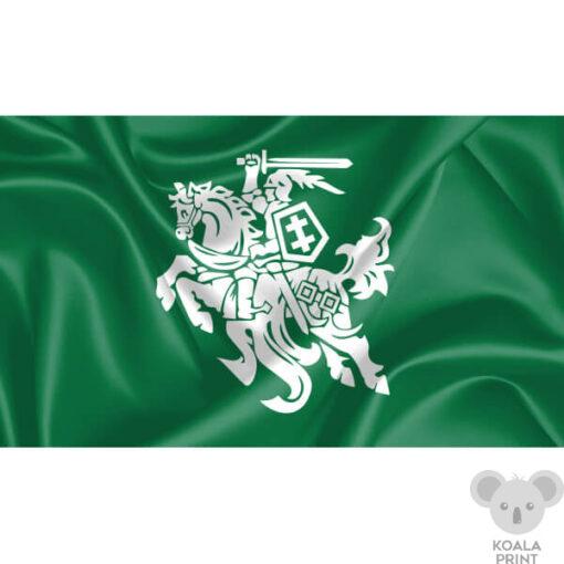 Žalia vėliava su Vyčiu