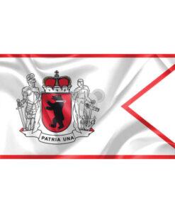 """Žemaitijos vėliava """"Su laikytojais ir meška, su antkakliu"""""""