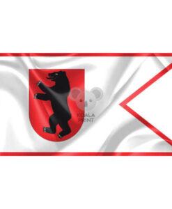 """Žemaitijos vėliava """"Su meška skyde, be antkaklio"""""""