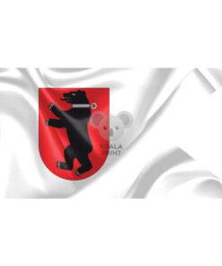 """Žemaitijos vėliava """"Su meška skyde"""" II"""