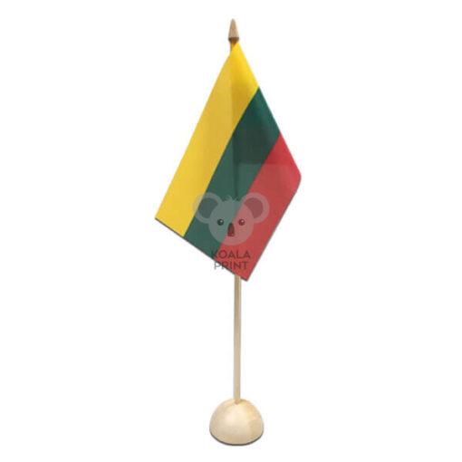 Vienvietis medinis vėliavėlės stovelis II