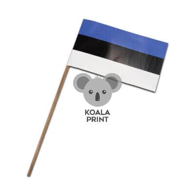 Estijos popierinė vėliavėlė