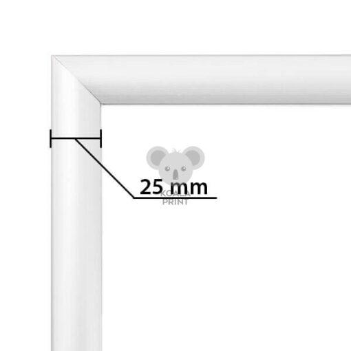 Pastatomas stovas reklamai B2, dvipusis