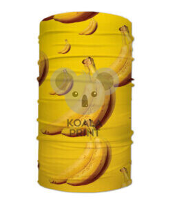 "Veido apdangalas su spauda ""Bananai"""