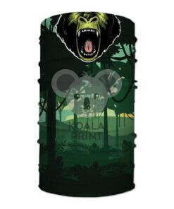 """Veido apdangalas su spauda """"Soldier Gorilla"""""""