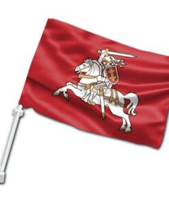 Senojo Vyčio automobilinė vėliavėlė su koteliu II