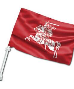 Senojo Vyčio automobilinė vėliavėlė su koteliu III