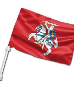 Senojo Vyčio automobilinė vėliavėlė su koteliu IV